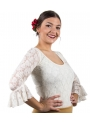 Lace flamenco top for woman