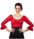 Lace Flamenco Top