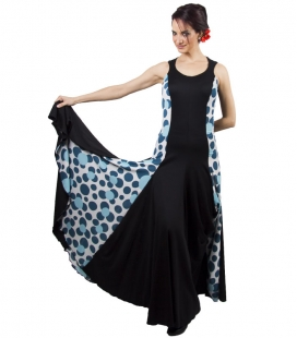 Flamenco costume single stitch and crepe
