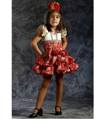 Spanish Flamenco Dress For Girls 2019