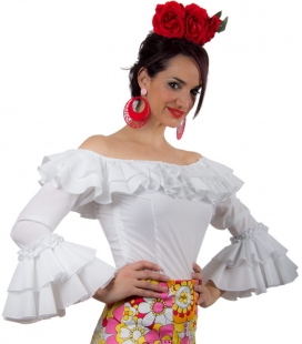 Lycra Flamenco Shirt - Habana