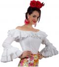 Lycra Flamenco Shirt - Habana