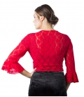 Short Lace Jackets For Woman