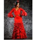 Classic flamenco dress