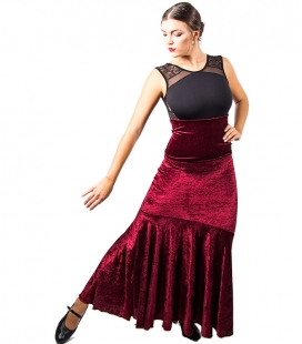 Velvet Flamenco Skirt in colours
