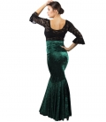 Velvet Flamenco Skirt