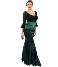 Velvet Flamenco Skirt in colours - SPECIAL PROMOTIONS