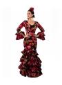 Woman's Flamenco Dress 2019, Size 42