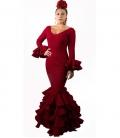 flamenco dress bourdeos