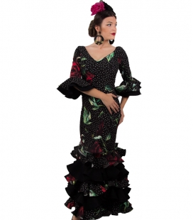 Woman's Flamenco Dress, Size 54