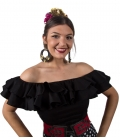 Flamenco Blouses Sleveless