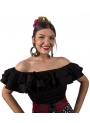 Flamenco Blouses Sleveless