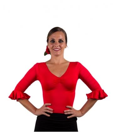 Flamenco es pasion  Women/'s Crop topSpain AndaluciaSpanish DanceAndalulcia