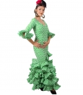 Flamenco Dress, Size 54 (3XL)
