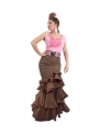 Flamenco Long Skirt, Azucena, Size L
