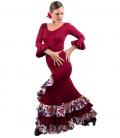Flamenco Set - Estrella skirt and bourdeaux Top