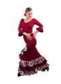 Flamenco Set - Estrella skirt and bourdeaux Top
