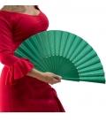 Hand fan in wood