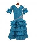 Girls Flamenco Dress, Size 5