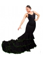 Flamenco Long-tale Skirt, Size L