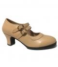 Flamenco shoes double sole