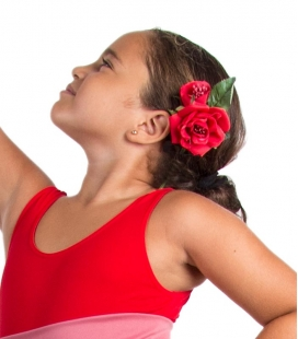 Flamenco flowers for girls