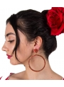 Big Round Flamenco Earrings
