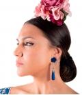 Flamenco Teardrop Earrings