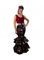 Women Flamenco Skirt, Size (M)