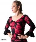 Printed Flamenco Top