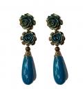 Flamenco earrings, Acorn model