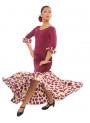 Flamenco skirt for girl model EF036