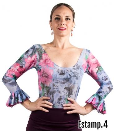 Flamenco Floral Top