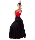 Woman Flamenco Skirt High Waist