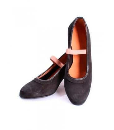 Dancing suede shoes