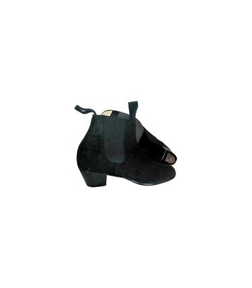 Flamenco Suede Ankle Boots