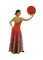 Flamenco Costume Godet for practicing flamenco
