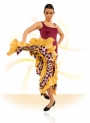 Flamenco Dancing dress E-4503 knitting-crape-knitting