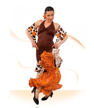 Flamenco dance dress