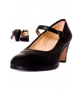 Leather flamenco shoes, model 573055