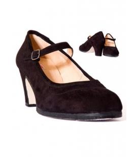 Flamenco Shoes Made of Buckskin, Model 573052