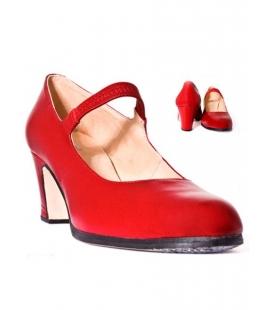 Leather flamenco shoes, model 573057