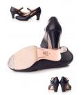 Leather Flamenco Shoes, Model 573062-P