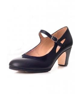 Buckskin Flamenco Dancing Shoes, Model 573062-P