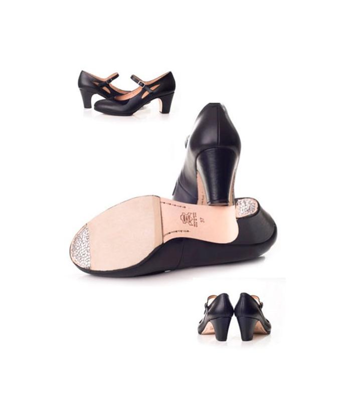 9f3f163b Zapatos de baile de salsa; Buckskin Flamenco Dancing Shoes, Model 573062-P