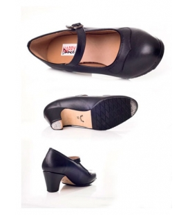 Leather flamenco shoes, Model 577-049