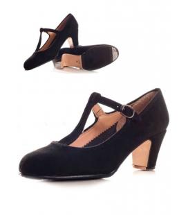 Buckskin Flamenco Shoes, buckle strap