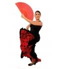 Flamenco dancing skirt model EF077