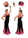 Flamenco dancing skirt mod. EF101 for women