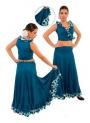 Flamenco dancing skirt for girls model EF092